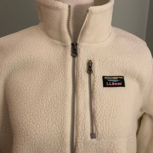 Cream colored fleece
